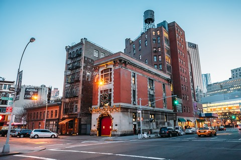 Ghostbuster's Firestation